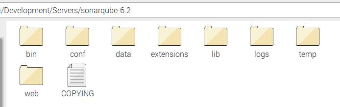 SonarQube folder